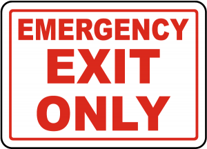 Emergency Exit Sign Supplier